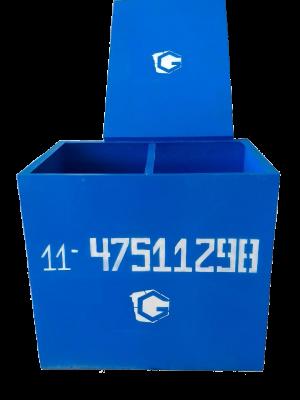 caixa quadrada